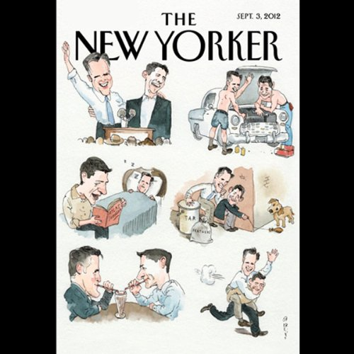 The New Yorker, September 3rd 2012 (Sarah Stillman, Tad Friend, Philip Gourevitch) cover art