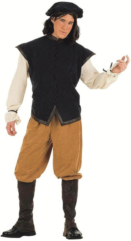 descuento de bajo precio Limit Sport - Disfraz de cantinegro medieval medieval medieval para adultos, talla L (EA004)  Sin impuestos
