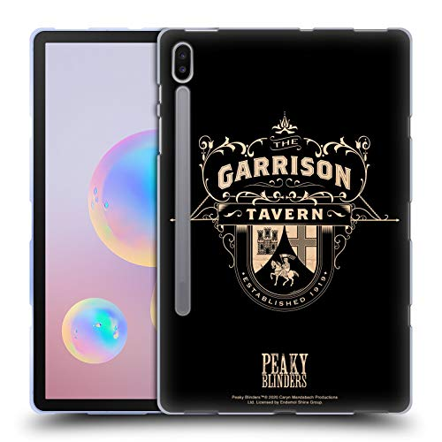Head Case Designs Officially Licensed by Peaky Blinders Garrison Tavern Location Badges Soft Gel Case Compatible with Samsung Galaxy Tab S6 (2019)