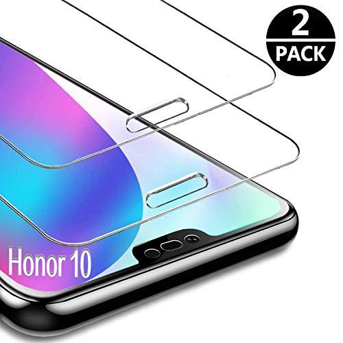 FUMUM Panzerglas Schutzfolie für Honor 10 Folie,Premium HD Anti-Kratzer 9H Bildschirmschutzfolie für Huawei Honor 10 Glasfolie[Bubble-frei][Anti Fingerabdruck][Anti-Öl]