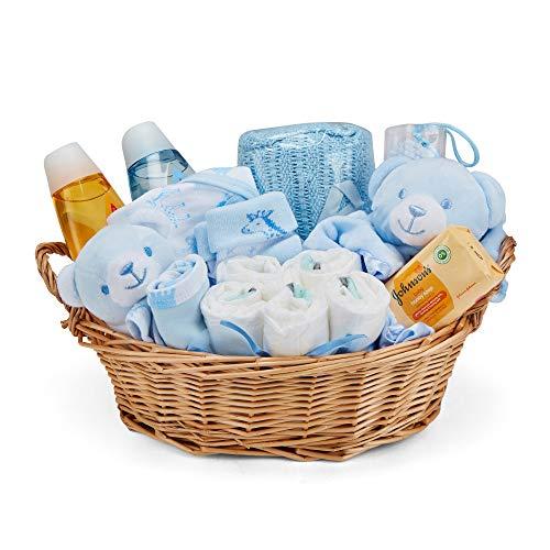 Baby Box Shop - Cesta regalo bebé niño con ropa de bebé -