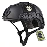 ATAIRSOFT Airsoft PJ Type Casco rápido para CQB Shooting Paintball Army Military Combat Black