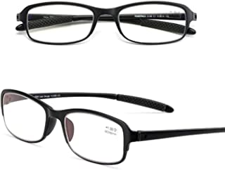 Comfortable Reading Glasses Fashion Comfortable and Elegant Old Man Clear and Simple Farsighted Old Glasses Beautiful (Color : Black, Size : +2.0)