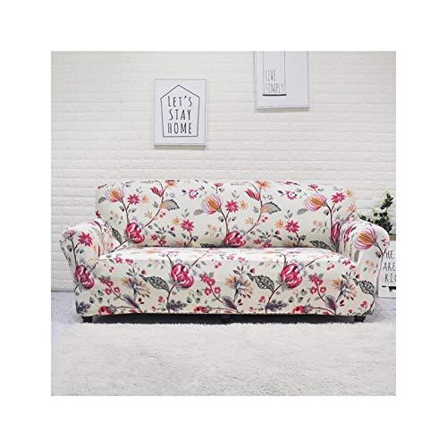 HMGANG Cubierta de sofá Elástico para Sala de Estar Sofa Sofa Sofa Cubierta DE Esquina IMPRESAVADA (Color : 25)