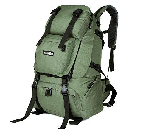 Sac à dos sac à dos sac à dos d'escalade de voyage escalade sacs voyages plein air hommes et femmes , army green