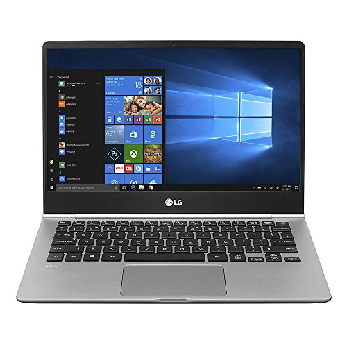 "LG Electronics gram Thin and Light Laptop – 13.3"" Full HD IPS Touchscreen Display, Intel Core i7 (8th Gen), 8GB RAM, 256GB SSD, Back-lit kbd - Dark Silver – 13Z980-A.AAS7U1"