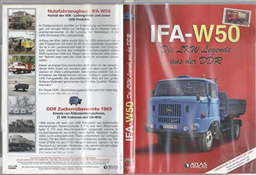 IFA-W50 - Die Lkw Legende aus der DDR (2 Filme: Porträt des VEB Ludwigsfelde + DDR Zuckerrübenernte 1969)