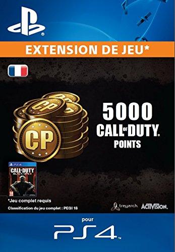 4000 (+1000 bonus) points Call of Duty [Extension De Jeu] [Code Jeu PSN PS4 - Compte français]