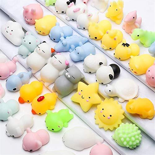 20pcs Fidget Toy Pack Barato Pelota Antiestres Cat Squishy Gato Juguetes Kawaii Mochi Gato,Mini Mochi Juguetes Para Gatos Mini Mochi Squeeze Kitty Toy