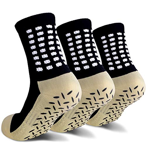 Anti Slip Non Slip,Non Skid Slipper Hospital,Sport,Athletic Socks with grips …