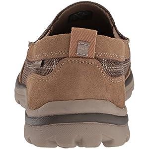 Skechers USA Men's Superior Milford Slip-on Loafer, Light Brown, 10 2W US
