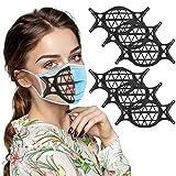 3D Mask Bracket -Silicone Face_Mask Bracket-3D Face_Mouth_Cover Bracket Inner Support Frame Health...