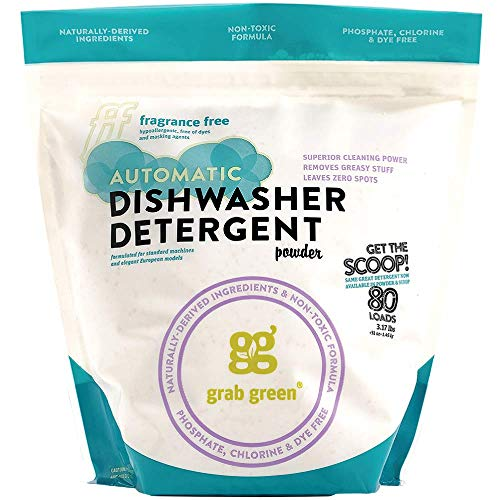 Grab Green Natural Automatic Dishwashing Detergent Powder