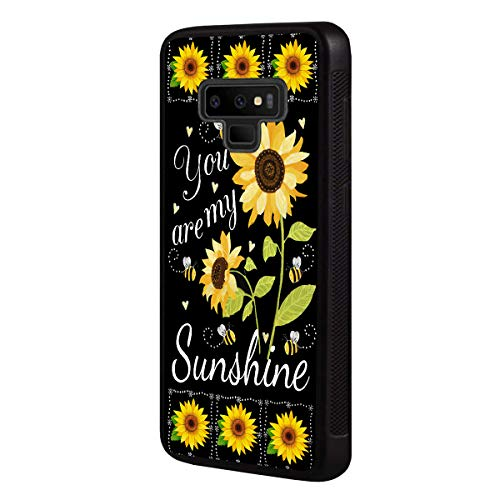 Galaxy Note 9 Case,BOSLIVE You are My Sunshine Sunflower Background Design TPU Slim Anti-Scratch Protective Cover Case for Samsung Galaxy Note 9 (2018)