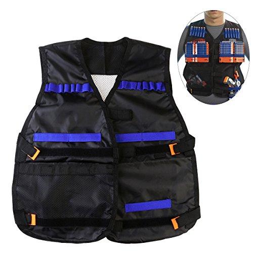 NUOLUX Taktische Weste Tactical Vest Adjustable für Krieg Spiel Schlacht Spiel