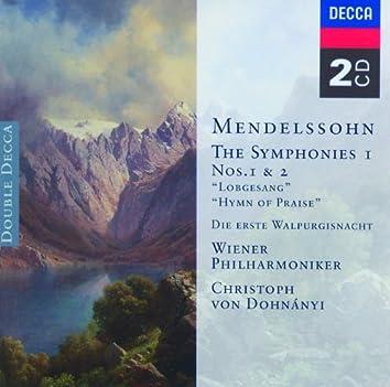 Mendelssohn: Symphonies Nos.1 & 2 etc.