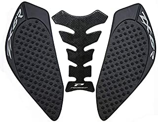 KYN for Kawasaki ZX6R 2009 2010 2011 2012 2013 2014 2015 2016 2017 2018 2019 Motorcycle 3M Gas Tank Pad Anti Slip Stickers Side Fuel Gas Grip Decal Protector (Black)