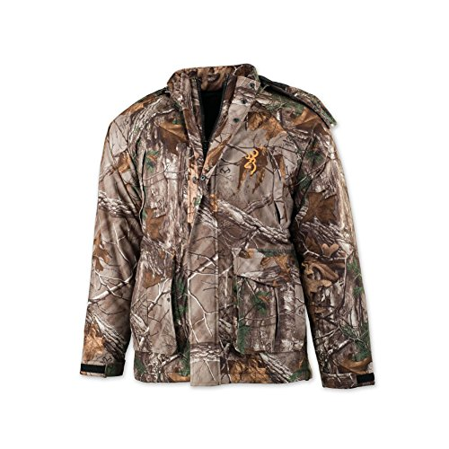Browning Wasatch Insulated Rain Parka, Realtree Xtra, Large