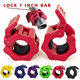 Best Barbell Collars - Greententljs 1 Inch Barbell Clamps Quick Release Locking Review