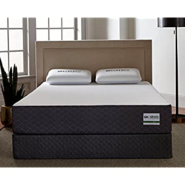Ghostbed Mattress-King 11 Inch-Cooling Gel Memory Foam-Mattress in a Box-Most Advanced Adaptive Gel Memory Foam–Coolest Mattress in America-Made in the USA–Industry Leading 20 Year Warranty