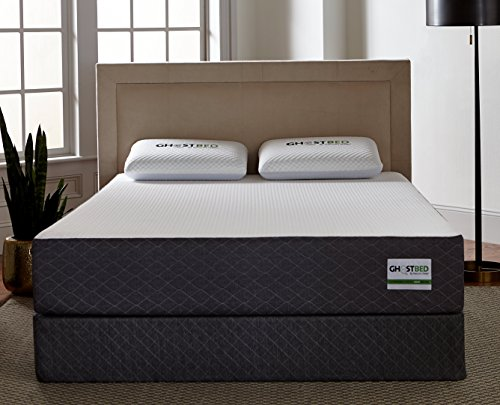 GhostBed Cal King Gel Memory Foam Mattress & 2 GhostPillows