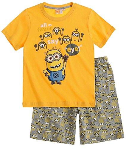 Minions Despicable Me Jungen Shorty-Pyjama - gelb - 116