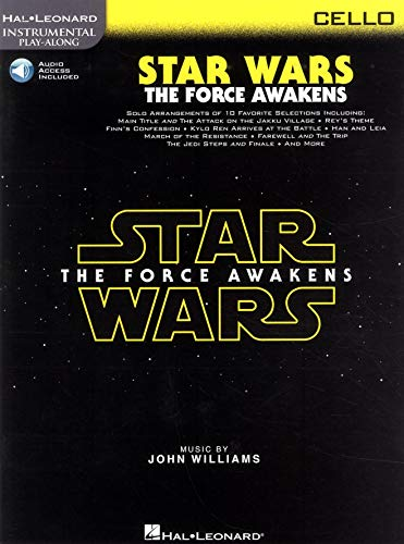 Hal Leonard Instrumental Play-Along: Star Wars - The Force Awakens (Cello) (Book/Online Audio)