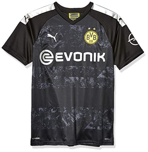 PUMA Mens Borussia Dortmund Licensed Replica Jersey 2019-2020, Medium, Away