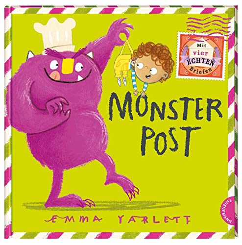 Monsterpost: Mit vier echten Briefen zum Rausnehmen (Tapa dura)