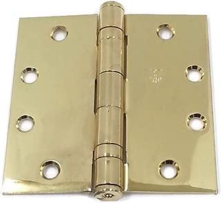 brass or steel hinges