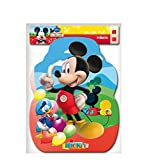 Mickey Mouse - Piñata Perfil Clubhouse balones, 33X46 cm (V