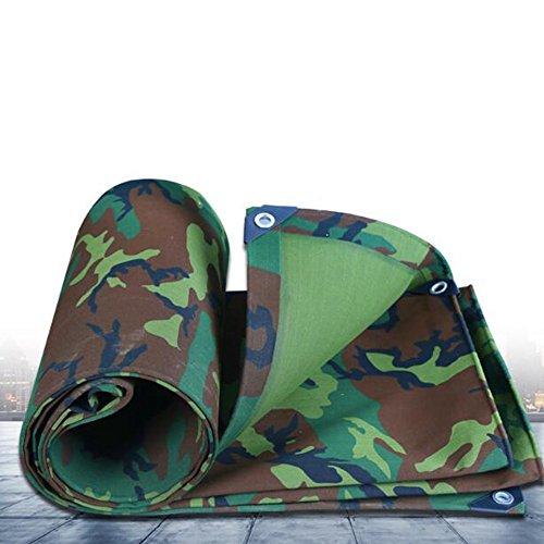 Planen ZHANGRONG- Camouflage Leinwand Dickes Wasserdichtes Tuch Wasserdichte Sonnenschutzplane Überdachung Zelt Regen Tuch 500g \\ ㎡ (Dicke 0.8MM) (größe : Camo-3x3m)