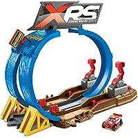 Mattel Disney Cars-XRS Superlooping carreras en el barro, pistas de coches de juguetes niños +4 años FYN85, multicolor, única , color/modelo surtido