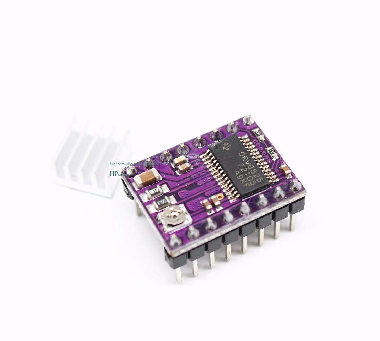 エレクトロニック一杯乳剤WillBest 30PCS DRV8825 Stepper Motor Drive Carrier Reprap 4-layer PCB RAMPS DRV8825 drive module