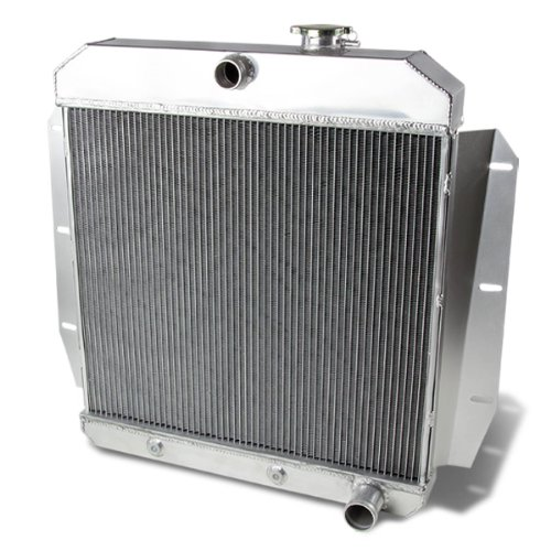 Replacement for Chevrolet/GMC Pickup Full Aluminum 3-Row Racing Radiator