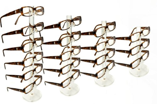 Akro-Mils 29306 Angle-Vu Snap-On Plastic Adjustable Label Holder for Chrome Wire Shelving Systems 25-Pack
