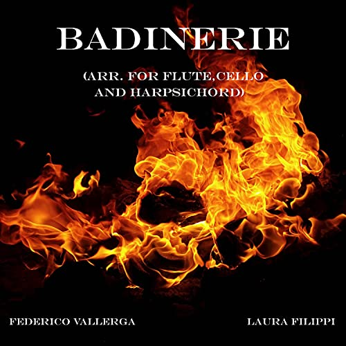 Badinerie (Arr. for Flute, Cello and Harpsichord)