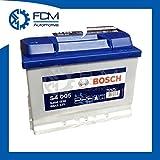 Bosch - Batería Silver para coche S4 005, 60 Ah, 540 A, 12 V, profesional, lista para usar