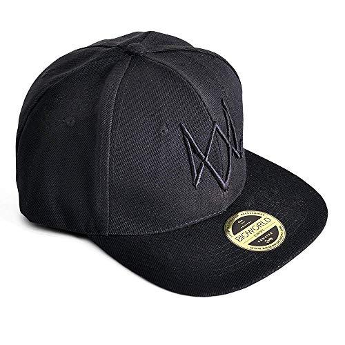 Watch Dogs 2 Logo Snapback Cap Basecap schwarz