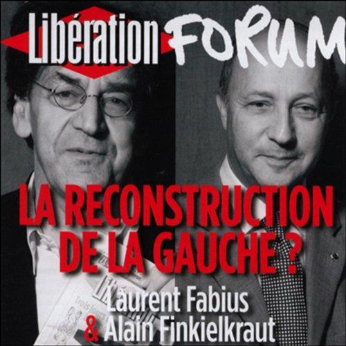 Couverture de La reconstruction de la gauche ?