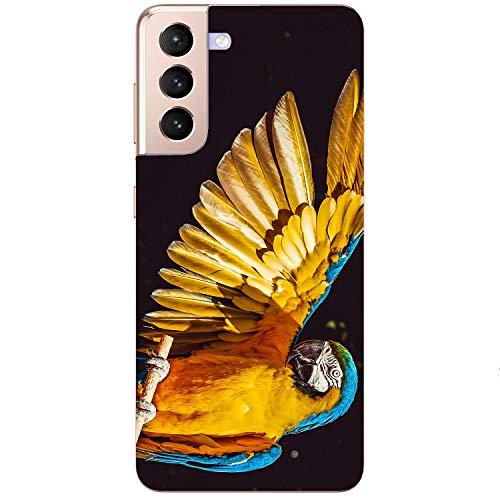 Generisch Funda blanda para teléfono móvil Ara loro pájaro pájaro azul para Samsung Apple Huawei Honor Nokia One Plus Oppo ZTE Xiaomi Google, tamaño: Apple iPhone 5 / 5s / SE 2016