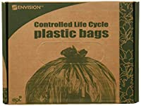 Wholesale CASE of 10 - Stout Totally Biodegradable Trash Bags-Biodegradable Trash Bags,13 Gal,.70 ml,24