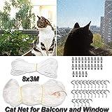 Katzennetz für Balkon und Fenster