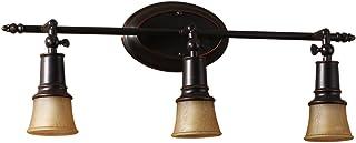 YSDHE Dresser Faro de Techo Downlight de Cobre Cuerpo Pintado de Hierro (Size : 62.5cm*21cm)