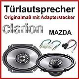 Clarion 16 x 8 pulgadas especialmente para Mazda 3/5/6 puertas delanteras y traseras.