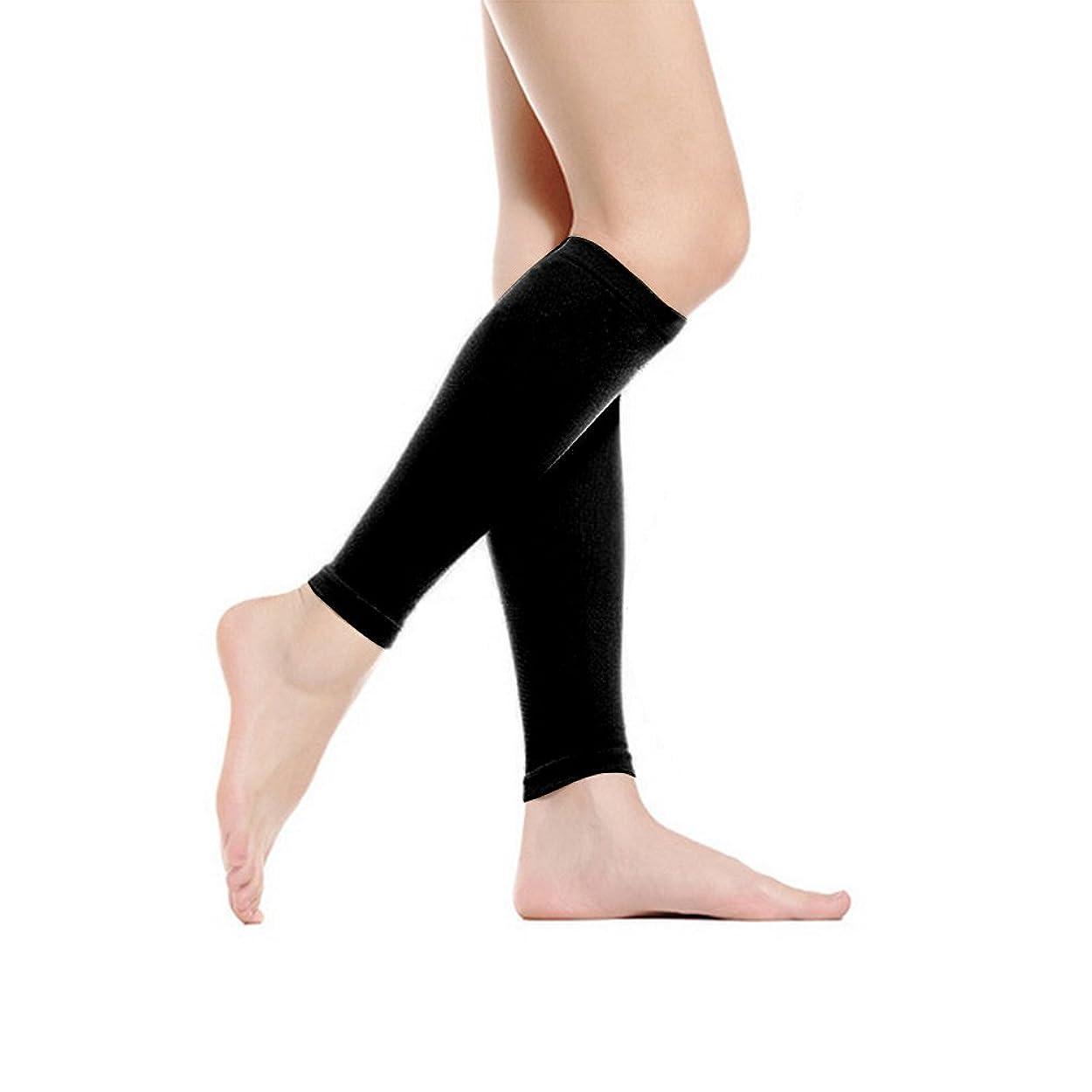 最適時系列承認着圧 ソックス むくみ解消 ふくらはぎ マッサージ 寝ながら美脚ソックス 着圧サポーター 引き締め 加圧 美脚 段階圧力設計 靴下 ブラック
