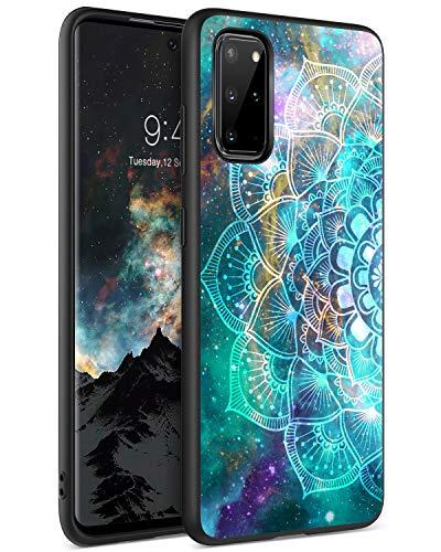 Samsung Galaxy S20 Plus Hülle BENTOBEN Handyhülle Samsung S20 Plus Hülle Slim leicht dünn Mandala Nebula Pattern Muster PC Schale TPU Bumper Kratzfest Schutzhülle Hülle für Samsung S20+ Plus 5G (6.7'')