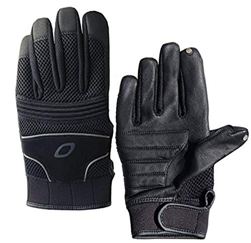 Olympia Sports Men's Touch Screen Gloves (Black, Medium),730-M,2