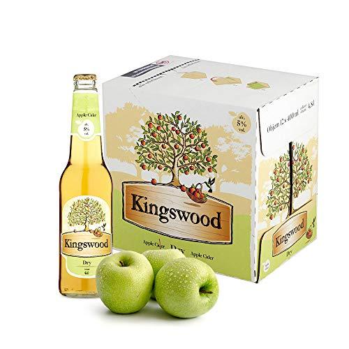 Kingswood Dry Cider Apfelschaumwein Box (12 x 0.4 l)