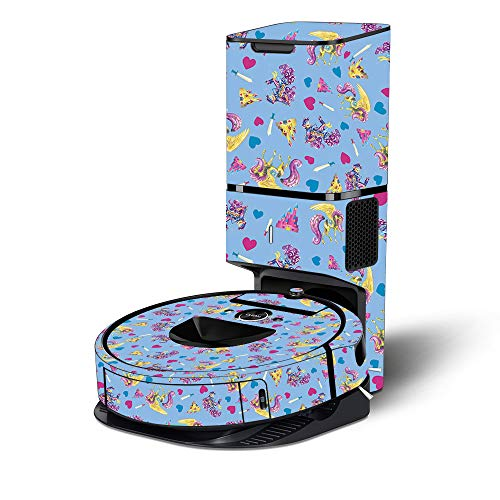 Lowest Price! MightySkins Skin Compatible with Roomba i7+ Robot with Tower Coverage - Castle Unicorn...